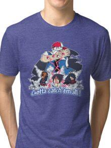 """ Danzo Master trainer "" ( Pokémon / Naruto ) Tri-blend T-Shirt"