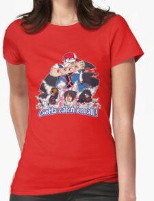 """ Danzo Master trainer "" ( Pokémon / Naruto ) Womens Fitted T-Shirt"
