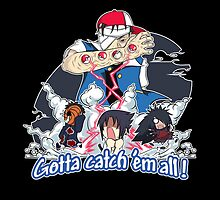 """ Danzo Master trainer "" ( Pokémon / Naruto ) by demas"