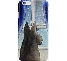 Scottie Dog 'Snowing' iPhone Case/Skin