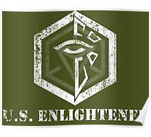 U.S. ENLIGHTENED - Ingress Poster