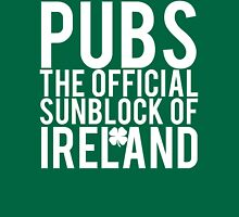 Pubs Irelands Sunblock Unisex T-Shirt