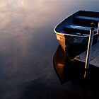 Boat, Lake Joseph, Catskills, New York by fauselr