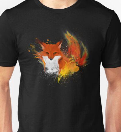 Red blazing fox  Unisex T-Shirt