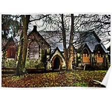 North Wales Hospital Chapel HDR Poster