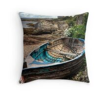 Marvin's Boat Throw Pillow
