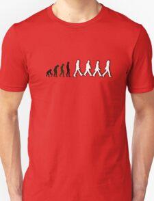 Musical Revolution Evolution - Beatles Abbey Road Unisex T-Shirt