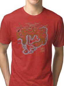 Kanto Map Tri-blend T-Shirt