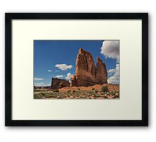 Courthouse Towers Framed Print