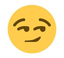 Smirking Face Twitter Emoji by emoji