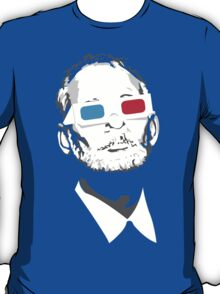 bill murray steve zissou 3d glasses T-Shirt
