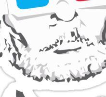 bill murray steve zissou 3d glasses Sticker