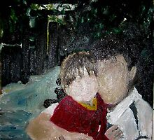 Father And Daughter by Rosanna Jeffery