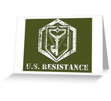 U.S. RESISTANCE - Ingress Greeting Card