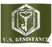 U.S. RESISTANCE - Ingress Poster