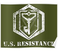 U.S. RESISTANCE - Ingress Poster