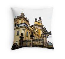 Tylko we Lwowie.... Throw Pillow
