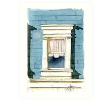 Window in San Francisco Art Print