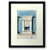 Window in San Francisco Framed Print