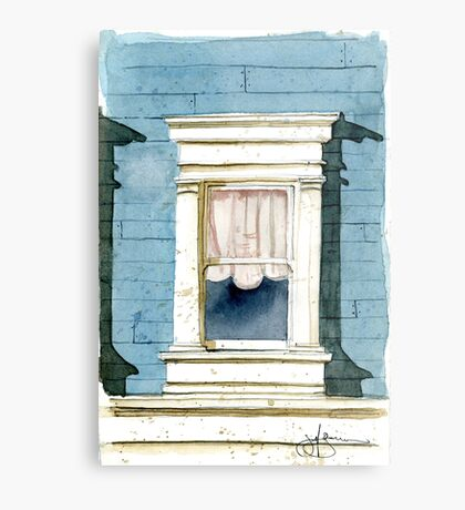 Window in San Francisco Metal Print
