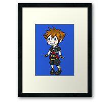 Heart Family - Sora Framed Print