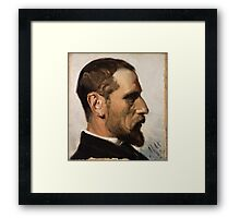 Michael Ancher - Laurits Andersen Ring Framed Print