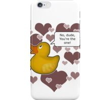 ♥ Rubber Ducky ♥ -girly iPhone Case/Skin