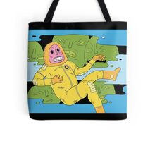 Trouble in the garden of transparent beings Tote Bag