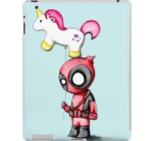 Merc with a Unicorn iPad Case/Skin