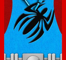 Scarlet Spider Phone Case by LumpyHippo