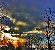 Mystic Sunset by EBArt
