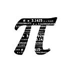 Pi Day Graphic Symbol by Mariannne Campolongo