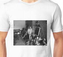 in the garage Unisex T-Shirt