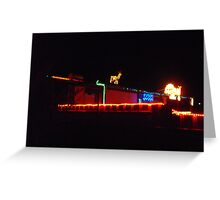 Bright Lights of Bluff Greeting Card
