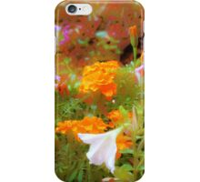 Every little garden seems to whisper a tune iPhone Case/Skin