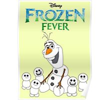 Olaf and his little buddies Poster