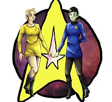 Star Trek Girl Power by ivory-breath