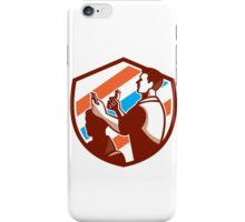 Barber Scissors Comb Cutting Shield Retro iPhone Case/Skin