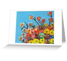Les fleurs de vie Greeting Card