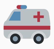Ambulance Twitter Emoji T-Shirt