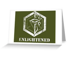 ENLIGHTENED - Ingress Greeting Card