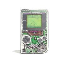 Game Boy Hi-Tech Transparent by James Borg