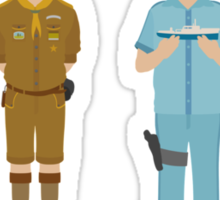 Wes Anderson Collection Sticker