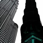 twin towers by twiart