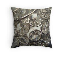Reflective Candle Holder Throw Pillow