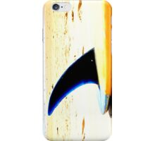 Blue Single Fin iPhone Case/Skin