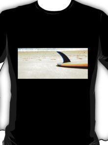 Blue Single Fin T-Shirt
