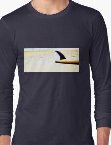 Blue Single Fin Long Sleeve T-Shirt