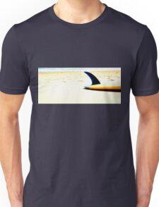 Blue Single Fin Unisex T-Shirt