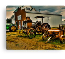 To Rust or Not To Rust Canvas Print